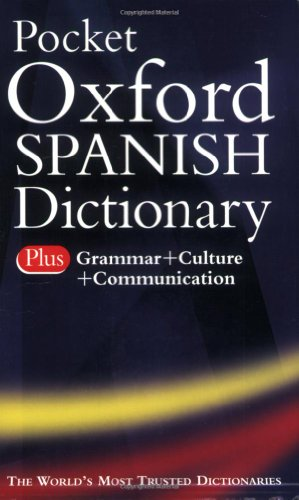 9780198610724: Pocket Oxford Spanish Dictionary