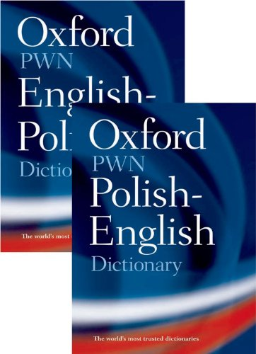 9780198610755: Oxford-PWN Polish-English English-Polish Dictionary: Two-volume set