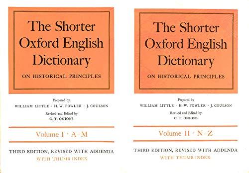 9780198611066: Shorter Oxford English Dictionary