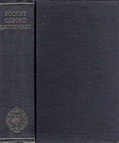 Pocket Oxford Dictionary of Current English: E. McIntosh, G.