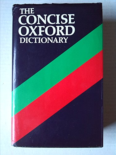 9780198611219: Concise Oxford Dictionary of Current English