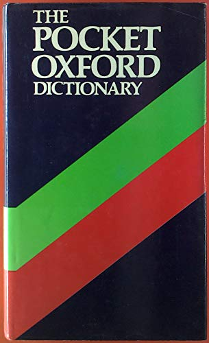 9780198611332: The Pocket Oxford Dictionary of Current English