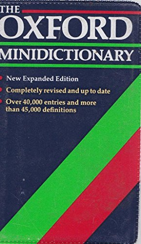 9780198612100: The Oxford Minidictionary