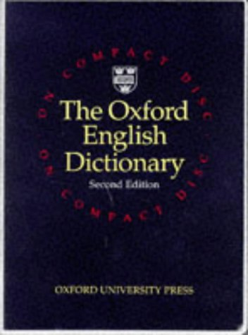 9780198612605: Oxford English Dictionary : CD-Rom for Windows (20 volume unabridged edition)