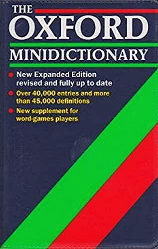 9780198612629: The Oxford Minidictionary