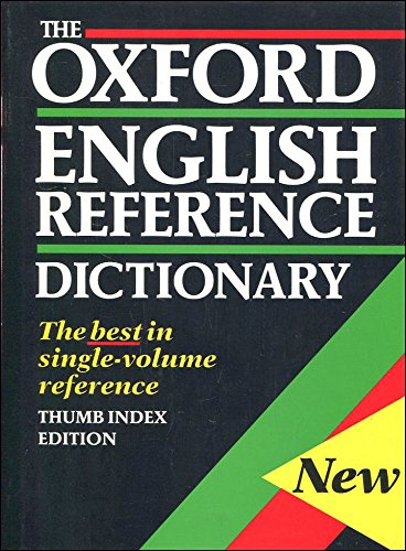 The Oxford English Reference Dictionary: Judy Pearsall, Bill