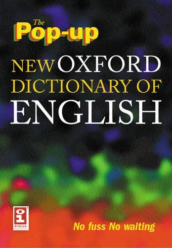 9780198613374: The Pop-up New Oxford Dictionary of English on CD-ROM