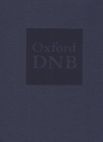 Oxford Dictionary of National Biography: Oxford University Press