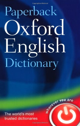9780198614241: Paperback Oxford English Dictionary