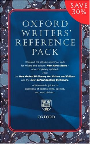 9780198614272: Writers' Reference Pack: