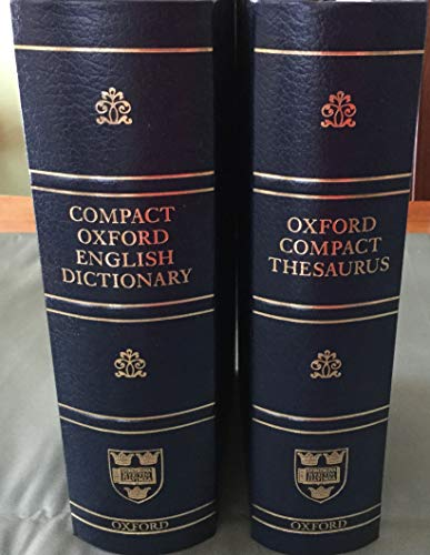 9780198614289: Compact Oxford English Dictionary