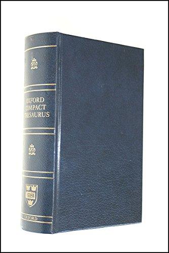 9780198614302: OXFORD COMPACT THESAURUS. Third Edition.