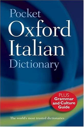 9780198614364: Pocket Oxford Italian Dictionary