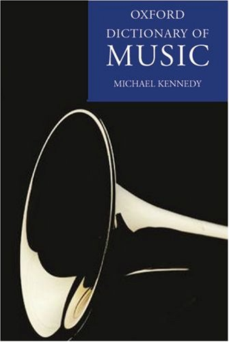 9780198614593: The Oxford Dictionary of Music