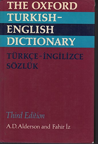 9780198641247: The Oxford Turkish-English Dictionary