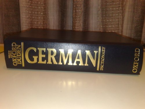 9780198641414: The Oxford-duden German Dictionary: German-english/ English-german