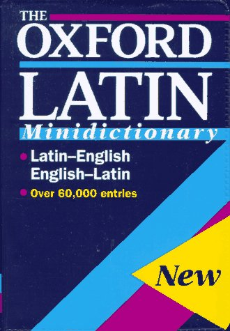 9780198642251: The Oxford Latin Minidictionary