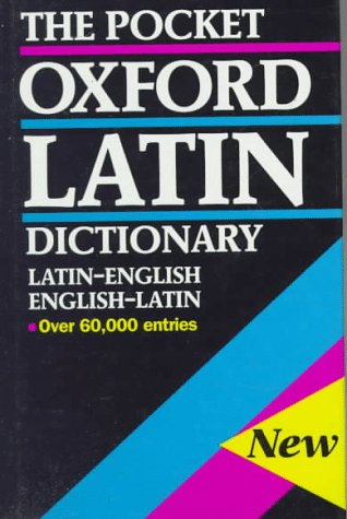 9780198642275: The Pocket Oxford Latin Dictionary
