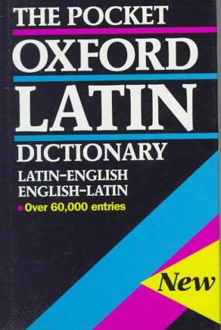 9780198642275: The Pocket Oxford Latin Dictionary