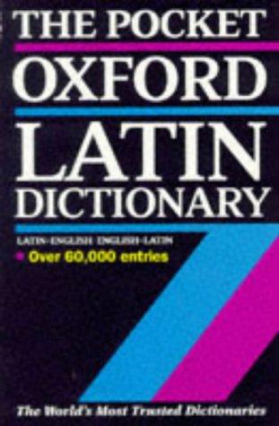 9780198642282: The Pocket Oxford Latin Dictionary