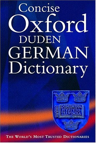 9780198642305: The Concise Oxford-Duden German Dictionary