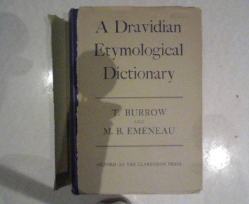 9780198643104: Dravidian Etymological Dictionary