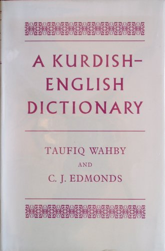 9780198643135: Kurdish-English Dictionary