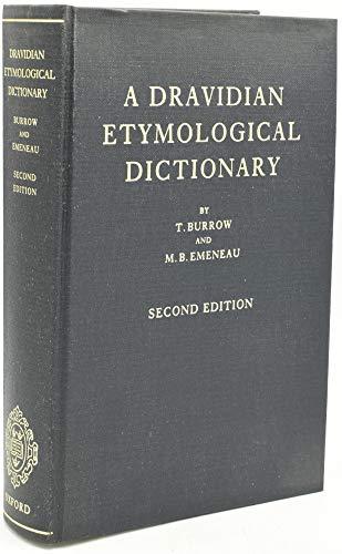 9780198643265: A Dravidian Etymological Dictionary