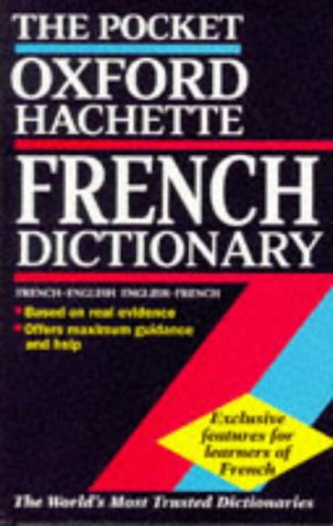 9780198645337: The Pocket Oxford-Hachette French Dictionary (English and French Edition)