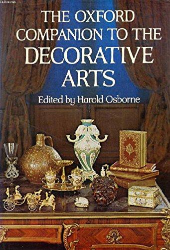 9780198661139: Oxford Companion to the Decorative Arts