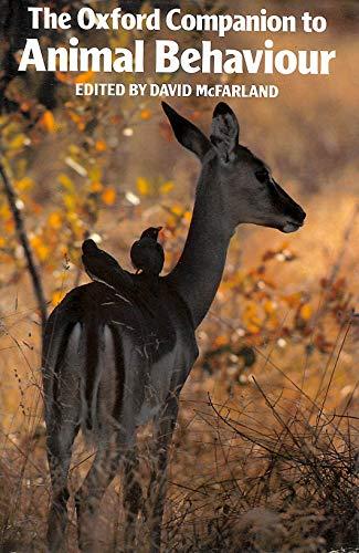 9780198661207: Oxford Companion to Animal Behaviour