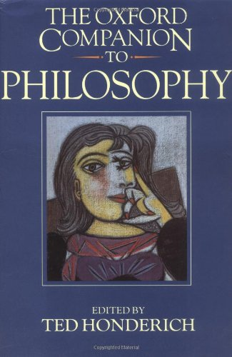 9780198661320: The Oxford Companion to Philosophy