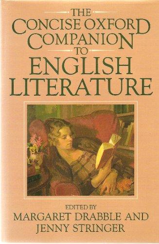 9780198661405: The Concise Oxford Companion to English Literature