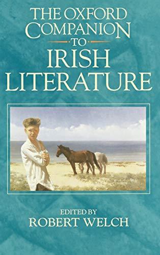 9780198661580: The Oxford Companion to Irish Literature