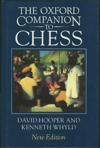 9780198661641: The Oxford Companion to Chess, Second Edition