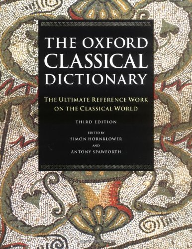 9780198661726: The Oxford Classical Dictionary