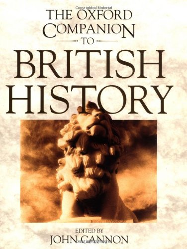 9780198661764: The Oxford Companion to British History