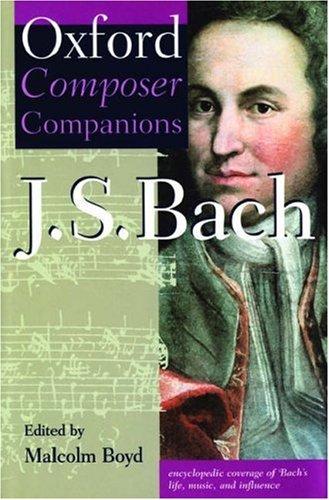 9780198662082: Oxford Composer Companion: J.S. Bach