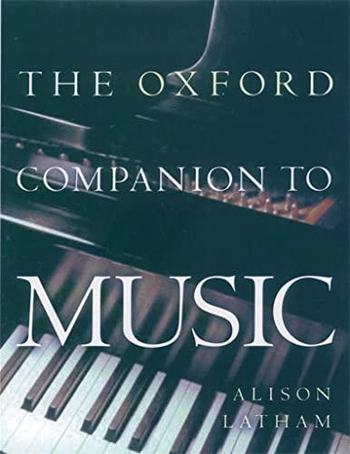 9780198662129: The Oxford Companion to Music (Oxford Companions)