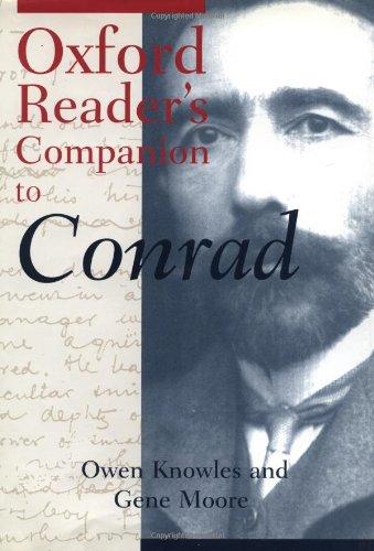 9780198662143: Oxford Reader's Companion to Conrad