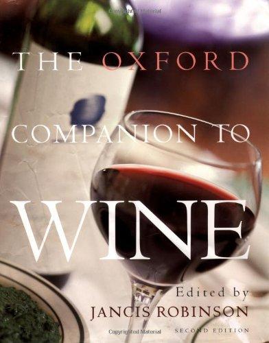 9780198662365: The Oxford Companion to Wine