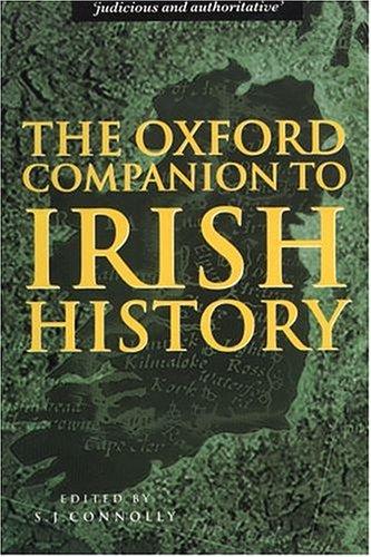 9780198662402: The Oxford Companion to Irish History