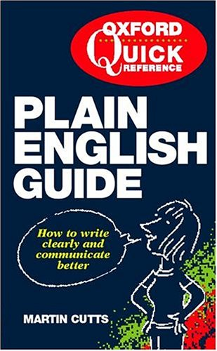 9780198662433: The Quick Reference Plain English Guide
