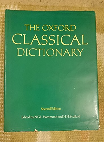 9780198691174: The Oxford Classical Dictionary