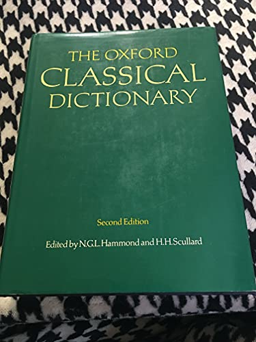 9780198691174: The Oxford Classical Dictionary, 2nd Edition