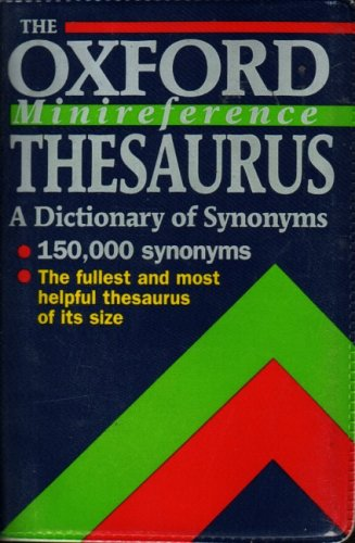 9780198691716: The Oxford Minireference Thesaurus