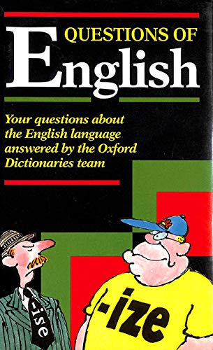 9780198692300: Questions of English