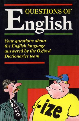 9780198692928: Questions of English