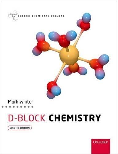 9780198700968: d-Block Chemistry (Oxford Chemistry Primers)