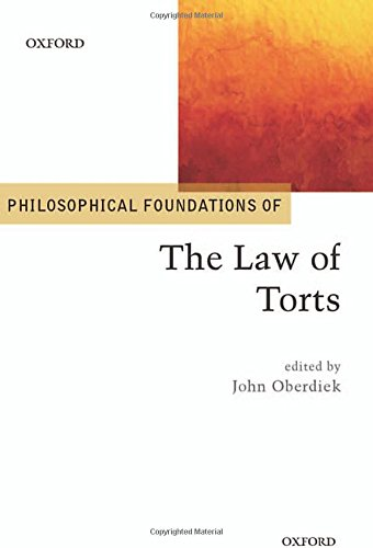 9780198701385: Philosophical Foundations of the Law of Torts (Philosophical Foundations of Law)
